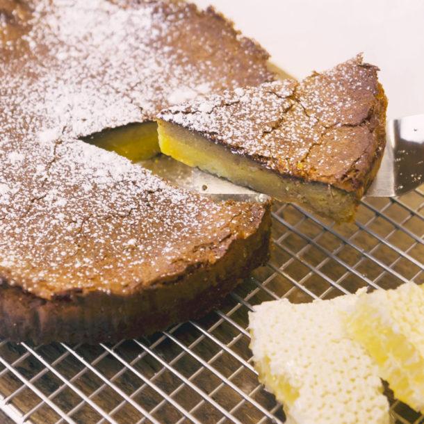 Gâteau au miel et citron