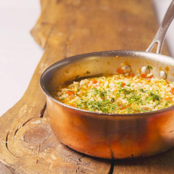 Carlos's tomato rice